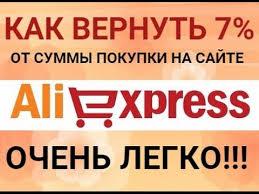 Возврат денег за покупки на AliExpress