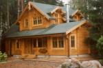 Рубленые деревянные дома – это благоприятные условия проживания в любое время года.