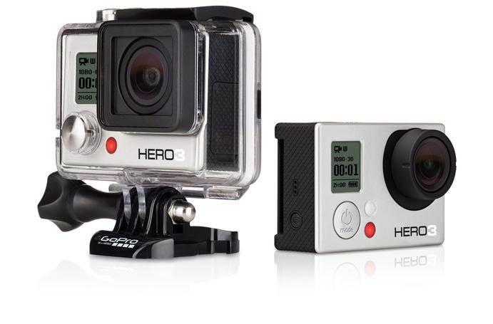 Обязательный атрибут экстримала - GoPro HERO3 White Edition