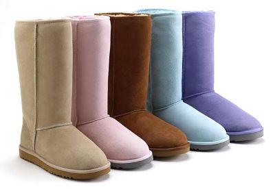 Сапожки-угги – современная обувь для ценителей комфорта