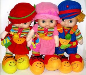 Мягкие игрушки, куклы и пупсы для детей