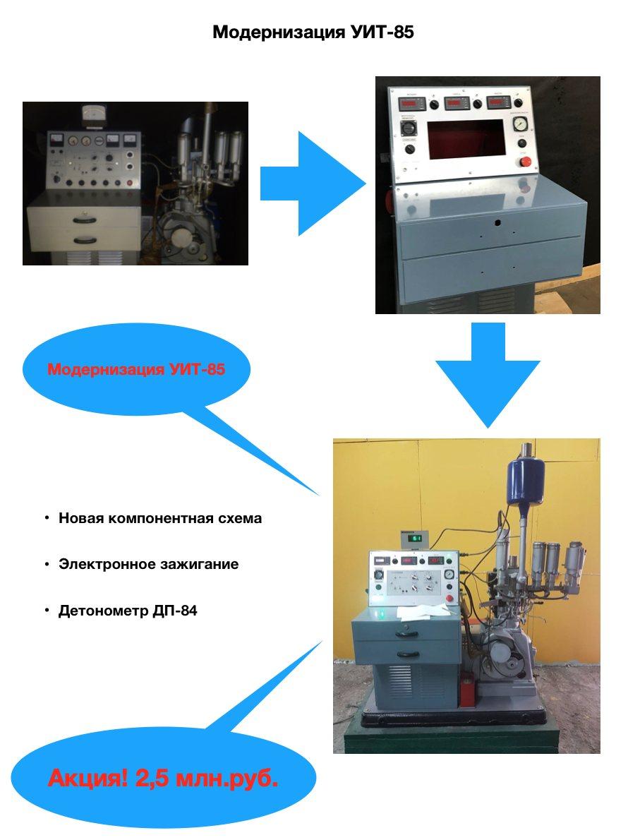 Модернизация УИТ-85